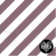 Organic Cotton Jersey - Diagonal Stripes-Grape Wine