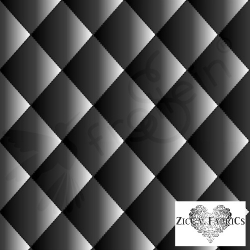 Fat Half-Organic Cotton Jersey-Quilt Illusion-Black