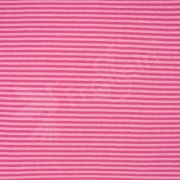 Ribbing - Stripes - Pink/Hot Pink