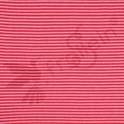 Ribbing - Stripes - Red/Pink