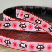 Woven Ribbon -Mr. Fox - Pink