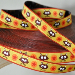 Woven Ribbon -Mr. Fox -Yellow