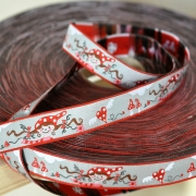 Woven Ribbon-Mrs Red Riding Hood